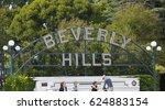 los angeles  usa   april 17 ... | Shutterstock . vector #624883154