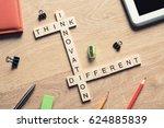 creativity and brainstorming... | Shutterstock . vector #624885839