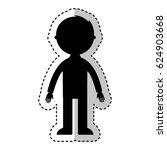 man avatar character icon | Shutterstock .eps vector #624903668