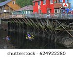 ketchikan  alaska   august 30 ...   Shutterstock . vector #624922280