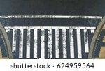 the empty pedestrian crosswalk... | Shutterstock . vector #624959564