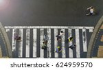 the one man walk reverse  the... | Shutterstock . vector #624959570