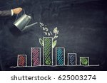 invest your money to get income ... | Shutterstock . vector #625003274