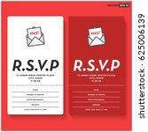 rsvp card ui design with name...