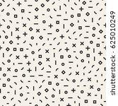 retro geometric line shapes...   Shutterstock .eps vector #625010249
