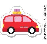 taxi vector icon | Shutterstock .eps vector #625014824