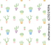 pastel colored seamless cute... | Shutterstock .eps vector #625019096