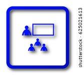 presenting icon. presenting...   Shutterstock . vector #625021613