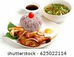 Vietnamese Lunch Set Of Rice...
