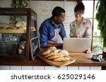 couple partnership the... | Shutterstock . vector #625029146