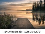 Scenic Landscape With Morning...