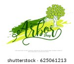 illustration of arbor day... | Shutterstock .eps vector #625061213