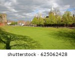 rochester  uk  view of the... | Shutterstock . vector #625062428