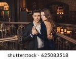 boy and girl | Shutterstock . vector #625083518
