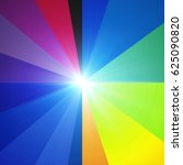 the round shape of colorful... | Shutterstock . vector #625090820
