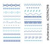 borders set | Shutterstock .eps vector #625096298