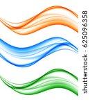 abstract elegant light wavy... | Shutterstock .eps vector #625096358