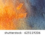 Blue And Orange Abstract...