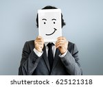 drawing facial expressions... | Shutterstock . vector #625121318