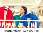 clothing  sale  fashion  style... | Shutterstock . vector #625129748