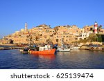Old Town And Port Of Jaffa Of...