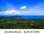 view point at dragon crest...   Shutterstock . vector #625147304