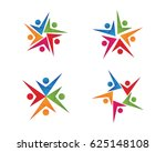 adoption and community care... | Shutterstock .eps vector #625148108