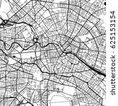 berlin germany vector map... | Shutterstock .eps vector #625153154