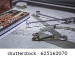 construction blueprints ... | Shutterstock . vector #625162070