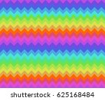 seamless coloured tile with... | Shutterstock . vector #625168484
