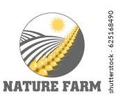 nature farm logo   Shutterstock .eps vector #625168490