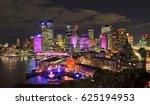 colourful illuminated city of... | Shutterstock . vector #625194953