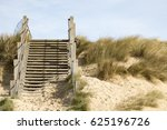 Wooden Stairs Leading Off The...