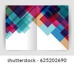 square design corporate... | Shutterstock .eps vector #625202690
