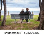 traveler sitting on  chair at... | Shutterstock . vector #625203203