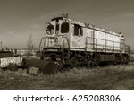 Old Rusty Train Locomotive...