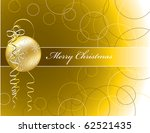 christmas background. abstract... | Shutterstock .eps vector #62521435