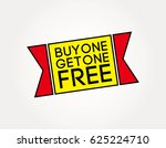 buy one get one free corner tag ... | Shutterstock .eps vector #625224710