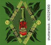 sailor man beer | Shutterstock .eps vector #625229300