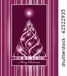 christmas background. eps10. | Shutterstock .eps vector #62522935