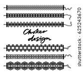 choker design. collection of...   Shutterstock .eps vector #625243670