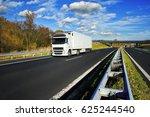 truck transportation | Shutterstock . vector #625244540