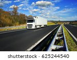 truck on the road   Shutterstock . vector #625244540