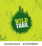 outdoor nature trail creative... | Shutterstock .eps vector #625244864