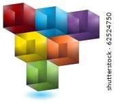 Geometric Cube Pattern