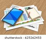3d illustration of business... | Shutterstock . vector #625262453