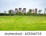 natural landscape with asphalt... | Shutterstock . vector #625266713