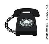 landline telephone icon image  | Shutterstock .eps vector #625272716