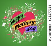 happy mother s day greeting... | Shutterstock .eps vector #625277396