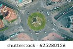 aerial shot of plaza de espana... | Shutterstock . vector #625280126